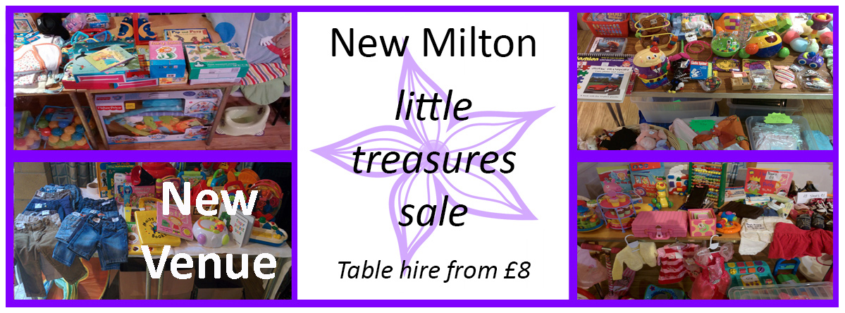 New Milton preloved, nearly new Baby & Children`s sale