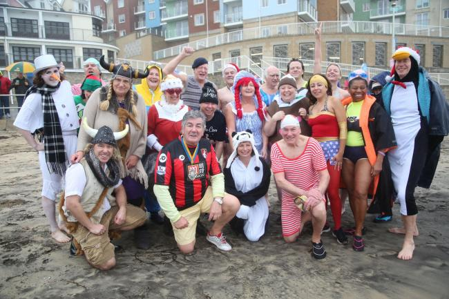 Bournemouth Spartans to take to water for Christmas swim