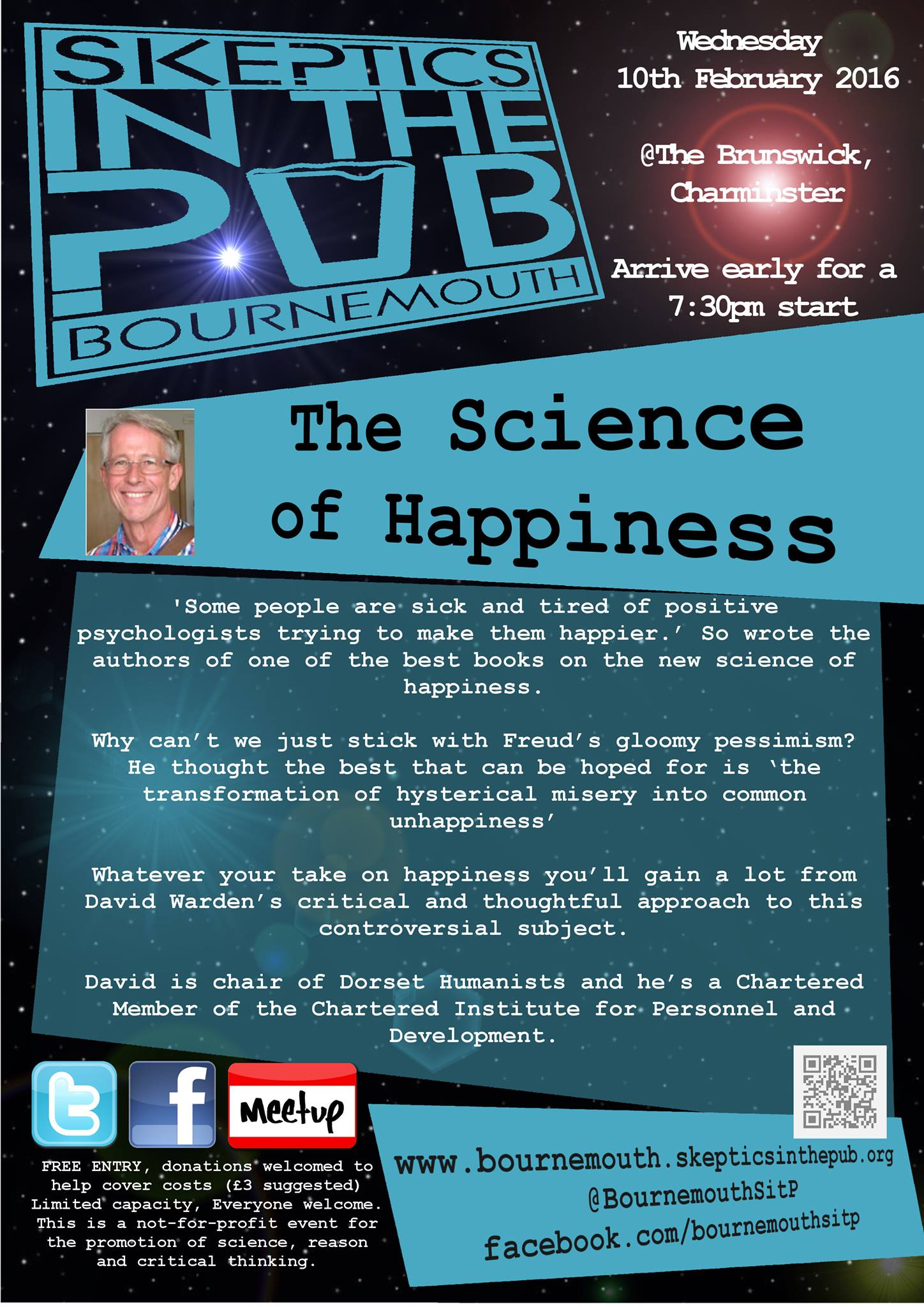 Bournemouth Skeptics In The Pub: The Science of Happiness