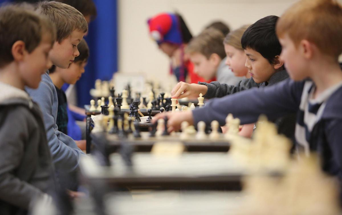 Chess stars of the future do battle at championship | Bournemouth Echo