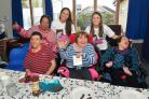 Service users and staff at Diverse Abilities enjoy the chocolate-themed party