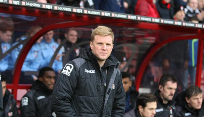 PASSION: Cherries manager Eddie Howe was praised for his commitment to diversity by Barclays' Nathan Homer.