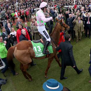 A jubilant Ruby Walsh returns on Champion Hurdle heroine Annie Power