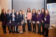 Young people from Talbot Heath School and Highcliffe School who won the Science, Technology, Engineering and Maths (STEM) Challenge run by Soroptomist International of Bournemouth