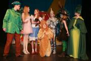 YELLOW BRICK ROAD: Pupils from St Michael's Middle School perform The Wizard of Oz at Queen Elizabeth School in Wimborne
