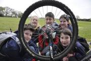 ECO-WARRIORS: Children from Ringwood Waldorf School on their Cycle to School day