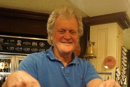 Tim Martin at the Moon in the Square, Bournemouth