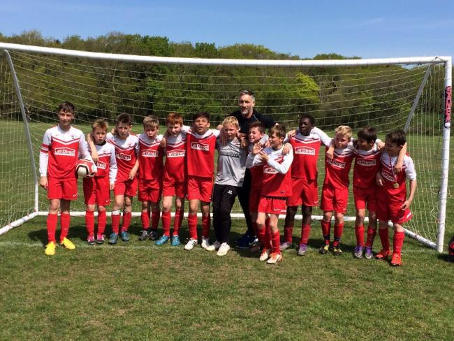CHAMPIONS: Bournemouth Poppies under-12s