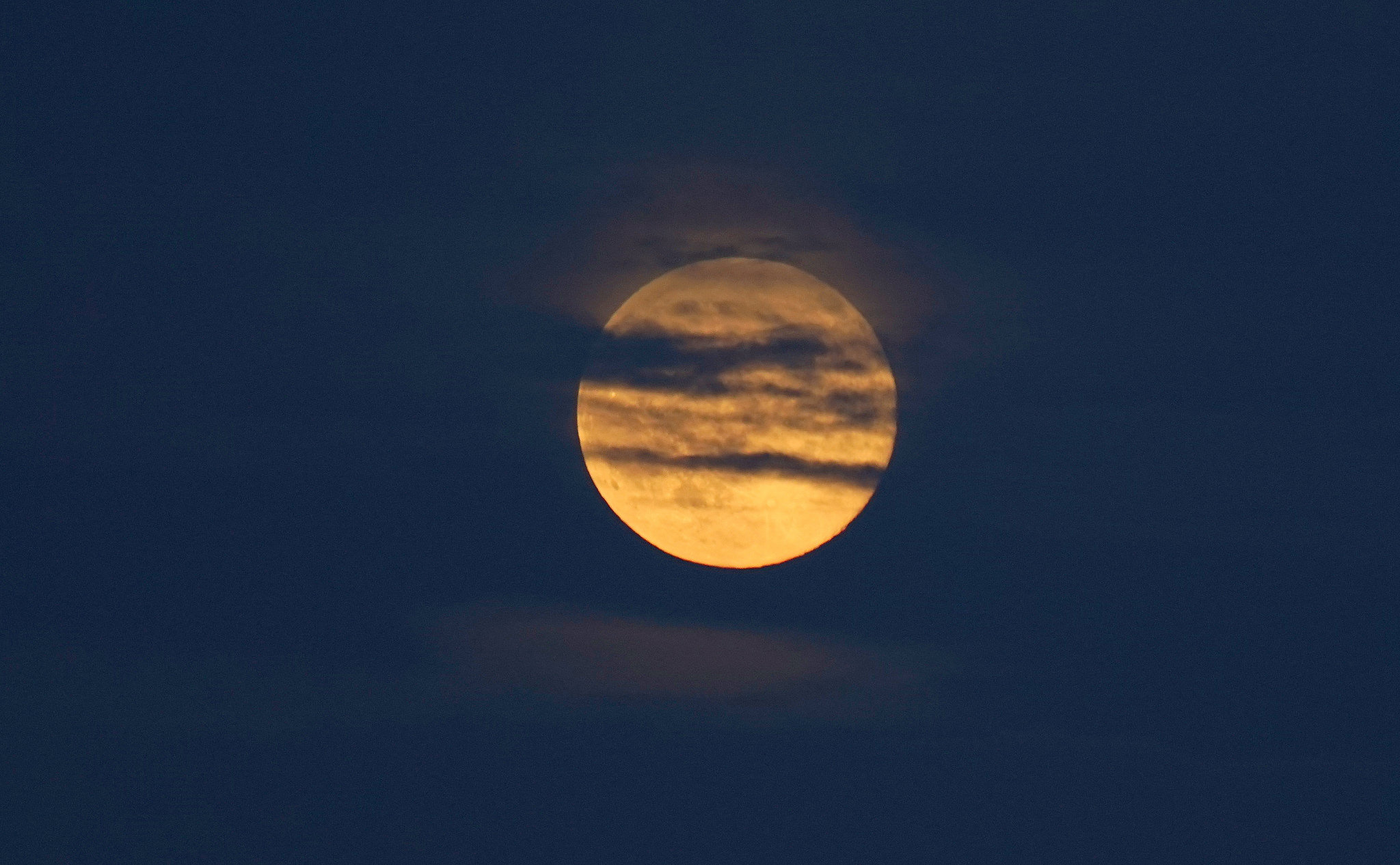 Clear skies predicted for tonight's Full Buck Moon