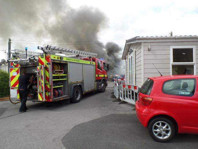 Elderly Couple Rescued From Fire At Holiday Park Home Reader Picture