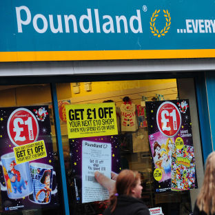 Yes, that is a £1 vibrator on sale at Poundland