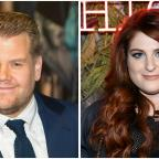 Bournemouth Echo: James Corden joins Meghan Trainor on stage for a duet in LA