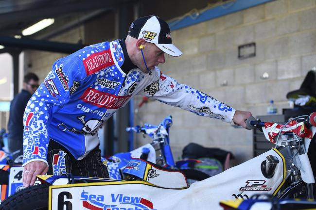 SIDELINED: Bjarne Pedersen will miss at least tomorrow's trip to Wolverhampton (Picture: Denis Murphy)