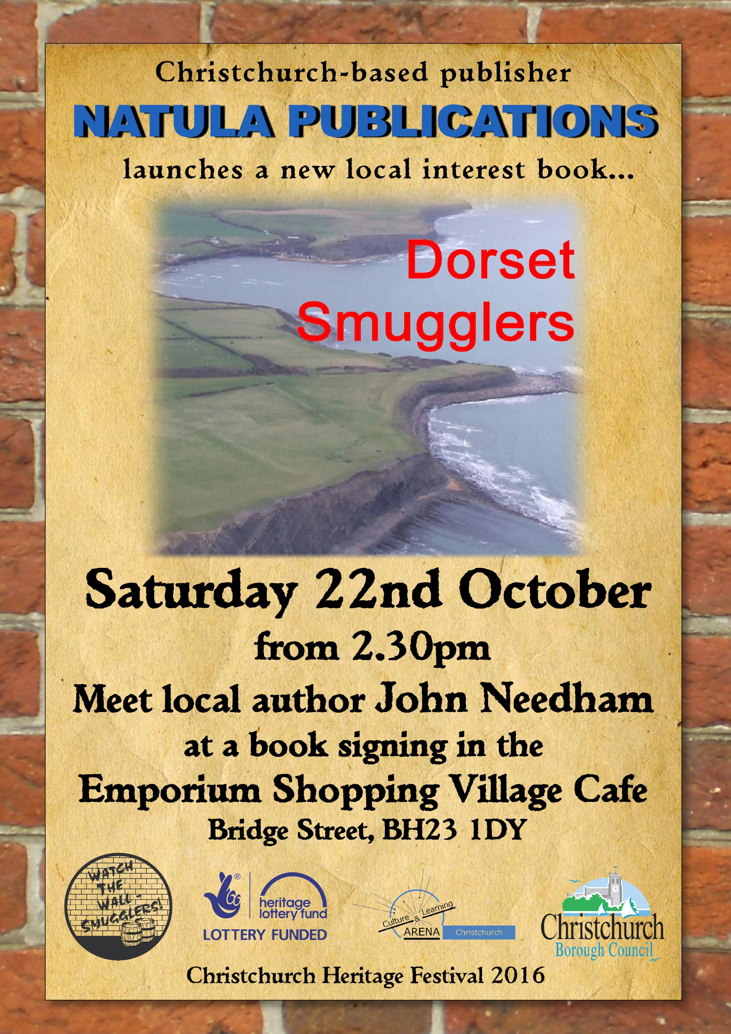 Christchurch Heritage Festival Watch the Wall - Smugglers! Book launch