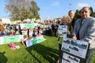 100 join protest march at plans for 16 affordable homes