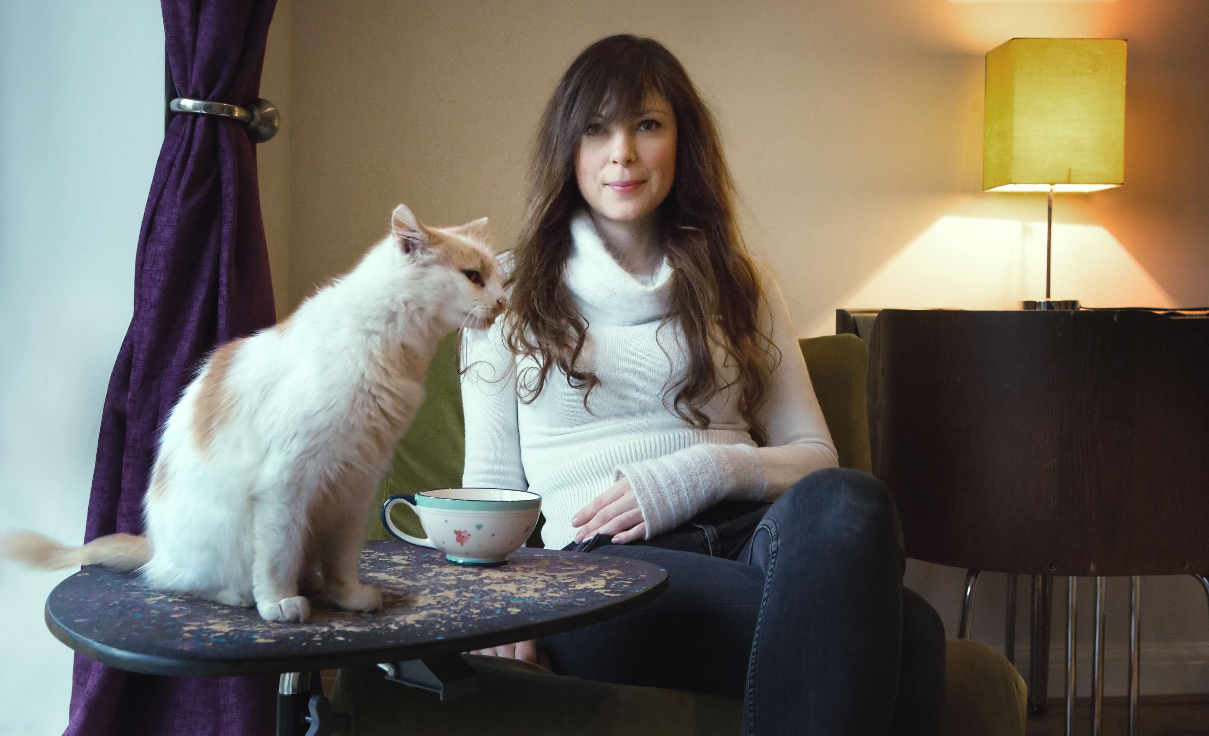Jaya Da Costa plans to open the first cat cafe in Bournemouth. rodlewisphotography.co.uk.