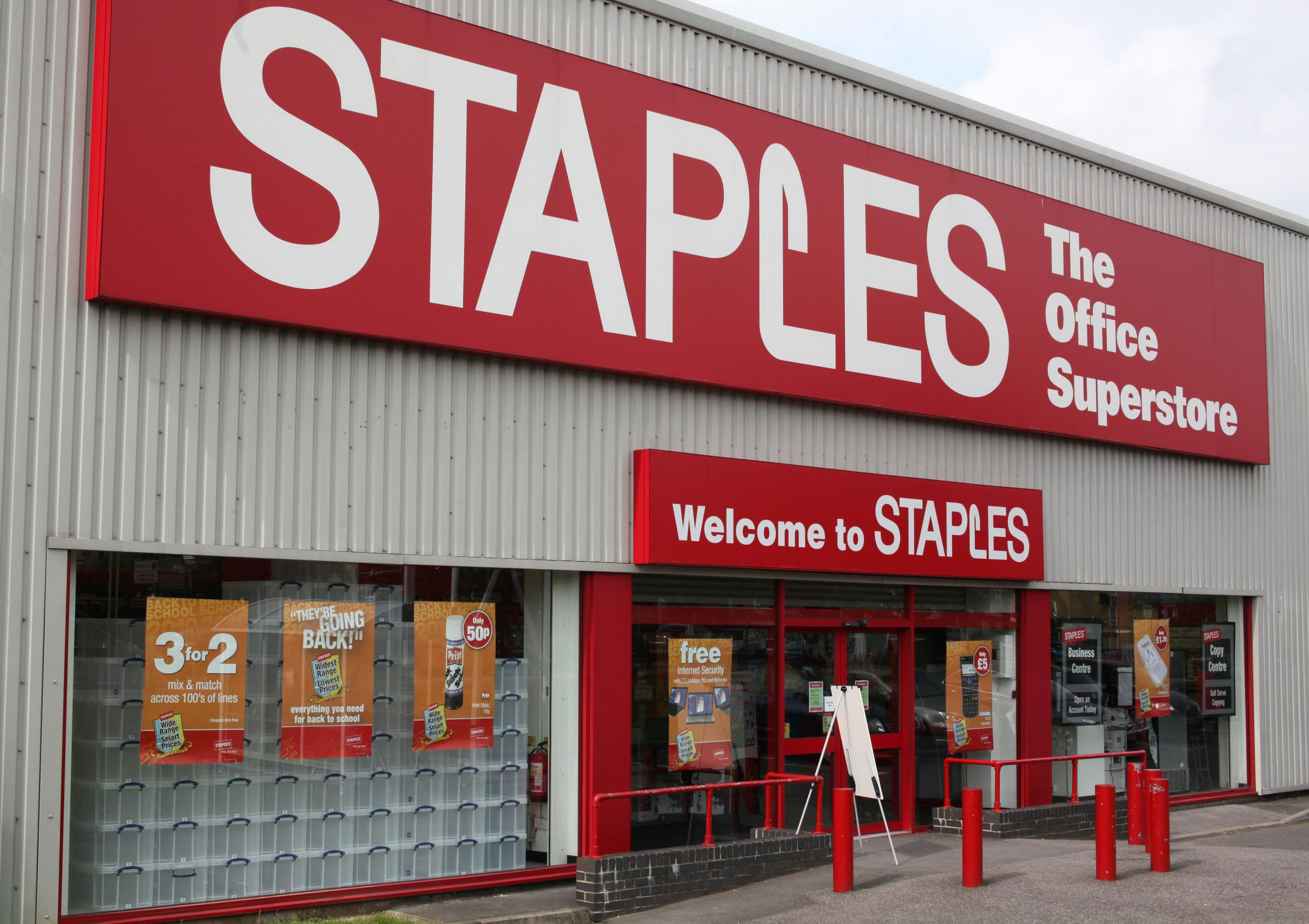 farewell staples new owner will phase out brand in uk in ing
