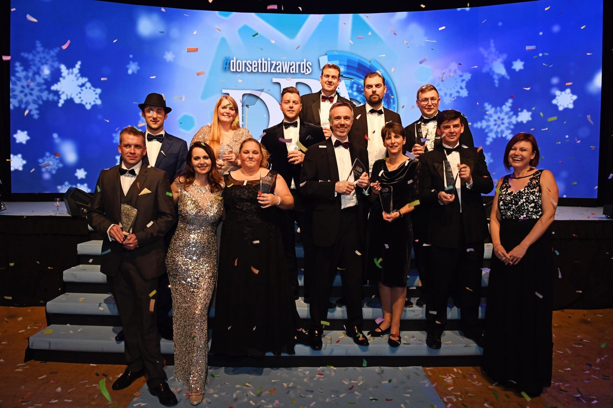CONGRATULATIONS: Winners of the Dorset Business Awards 2016   Picture: LOUISE JOLLEY