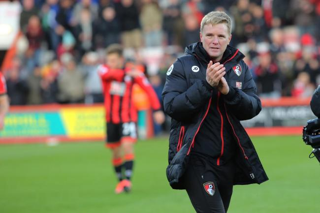 "READY FOR BUSINESS: Eddie Howe wants to do ""a couple of things"" in the January transfer window"