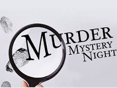 Murder Mystery Themed Dinner. Sherlock Holmes & the Blue Majesty followed by After Party Discotheque