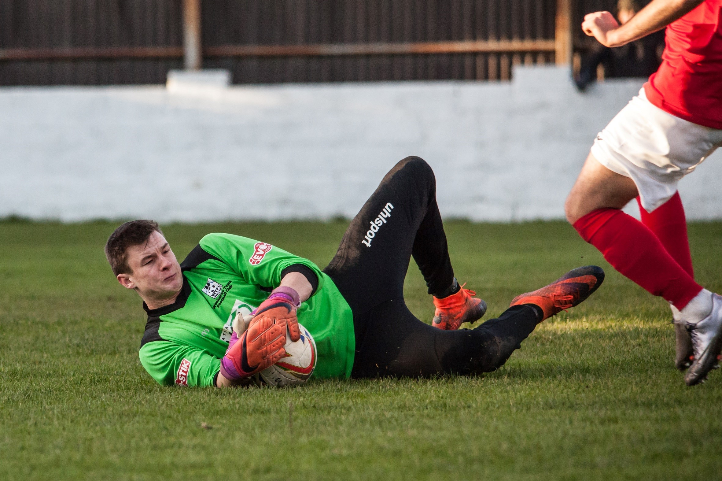 BACK IN CONTENTION: Wimborne Town goalkeeper Gerard Benfield is available for the FA Trophy tie at Thame United (Picture: WTFC)