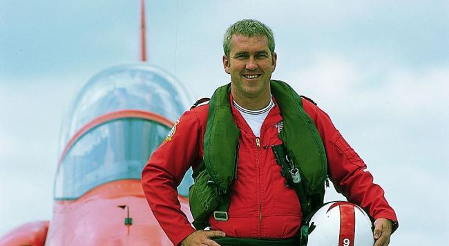 PERFORMANCE: Justin Hughes, former Red Arrows pilot and author of The Business of Excellence