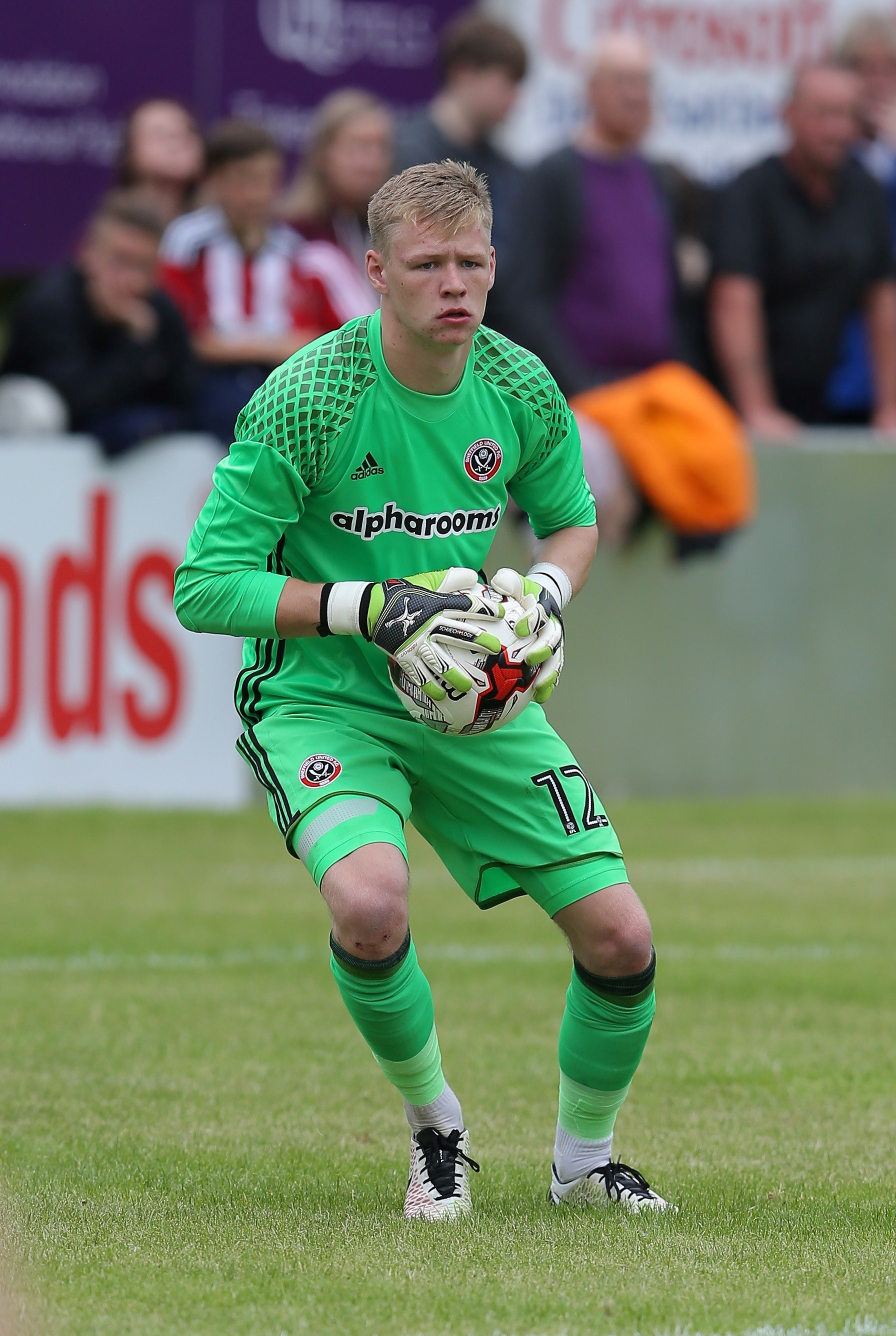 ON THE WAY UP: Goalkeeper Aaron Ramsdale (Picture: Sheffield United FC)