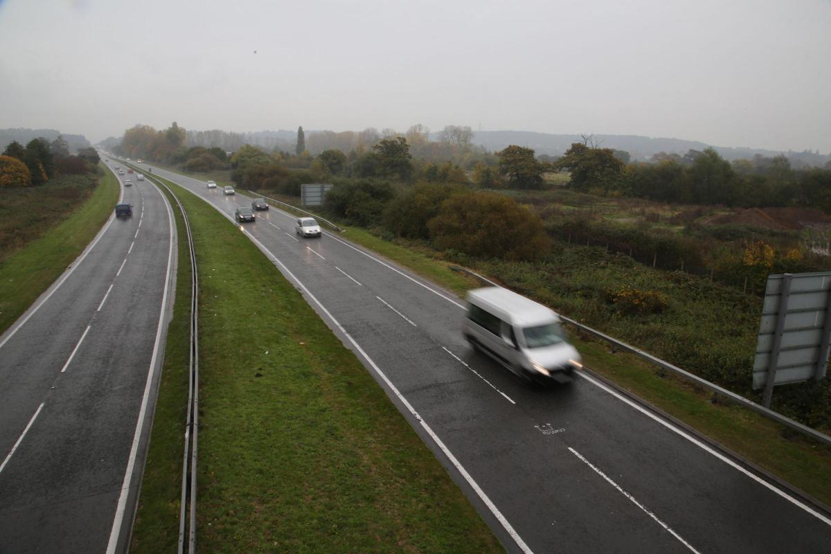 A338 work at Blackwater, new slip road and hospital route: here's