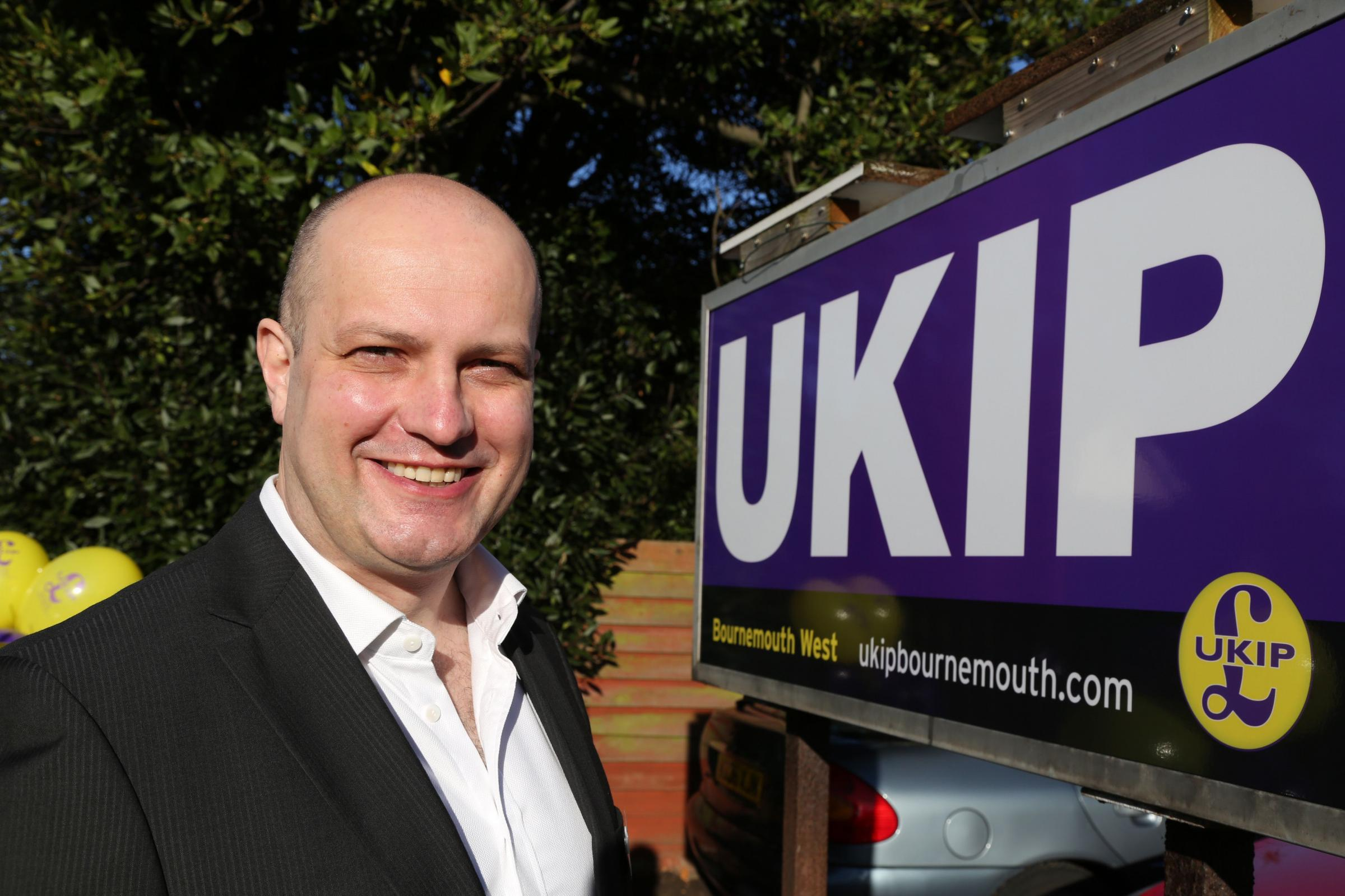 Martin Houlden, vice chairman of UKIP, Bournemouth West