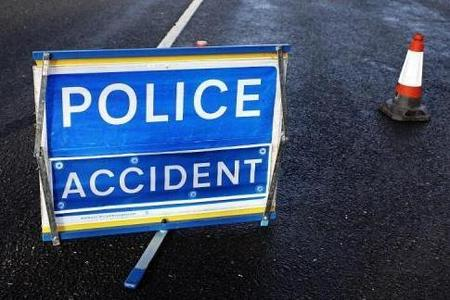 Poole Road closed after crash