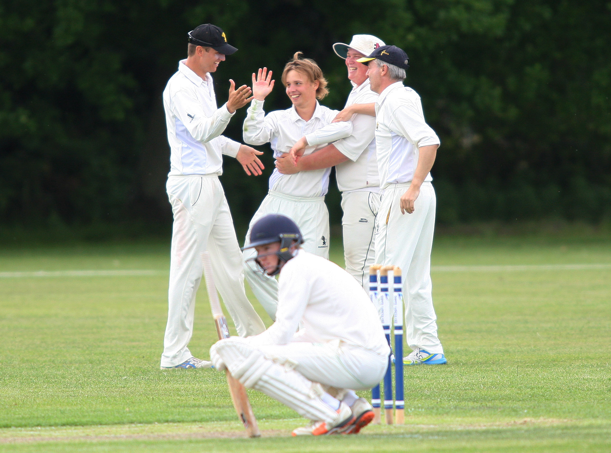 IN THE WICKETS: Bournemouth's Dom Clutterbuck was in fine form for Oxford MCCU