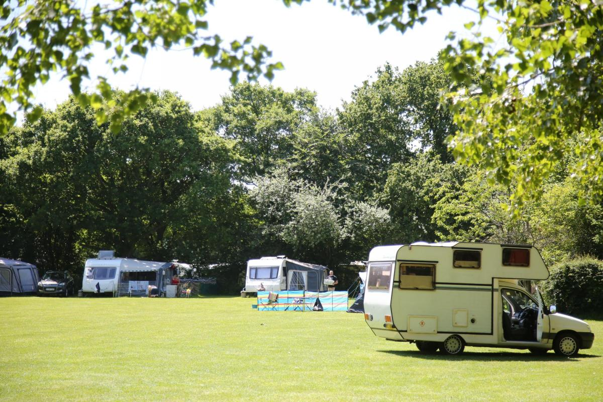 Campsite Being Investigated Over Number Of Caravans After 200 Seen Visiting Site Gundrys Farm Caravan
