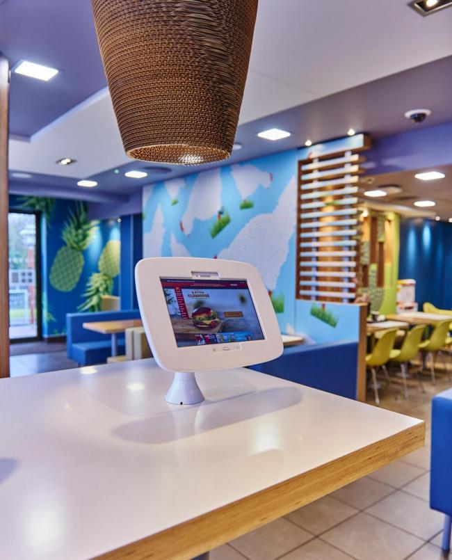 Plans For The McDonalds Restaurant In Alder Road Poole