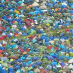 Bournemouth Echo: An aerial view of tents during the Glastonbury Festival at Worthy Farm in Pilton, Somerset.  PRESS ASSOCIATION Photo. Picture date: Thursday June 22, 2017. See PA story SHOWBIZ Glastonbury. Photo credit should read: Ben Birchall/PA Wire