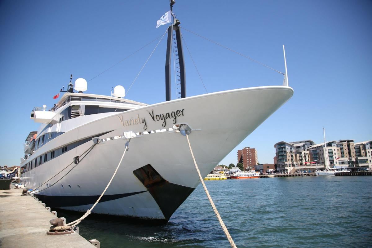 PICTURES AND 360 VIDEO Inside The GBP30million Mega Yacht Docked At Poole Harbour