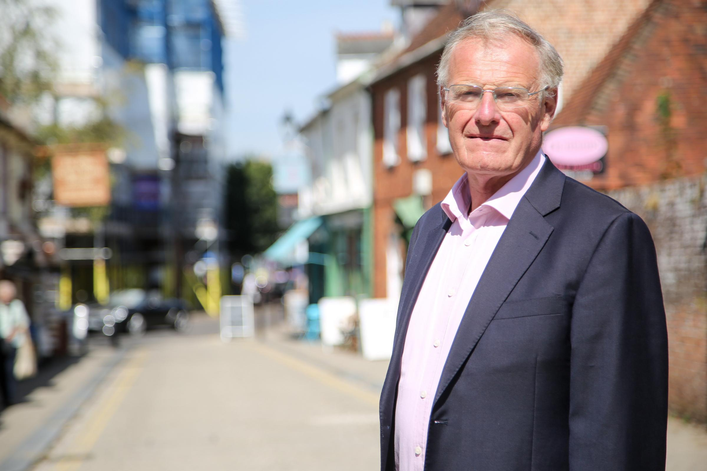 Sir Christopher Chope in Christchurch