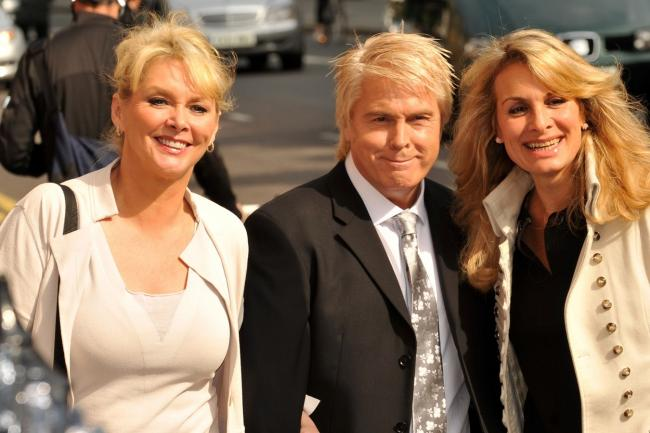 Former Bucks Fizz members Cheryl Baker, Mike Nolan and Jay Aston