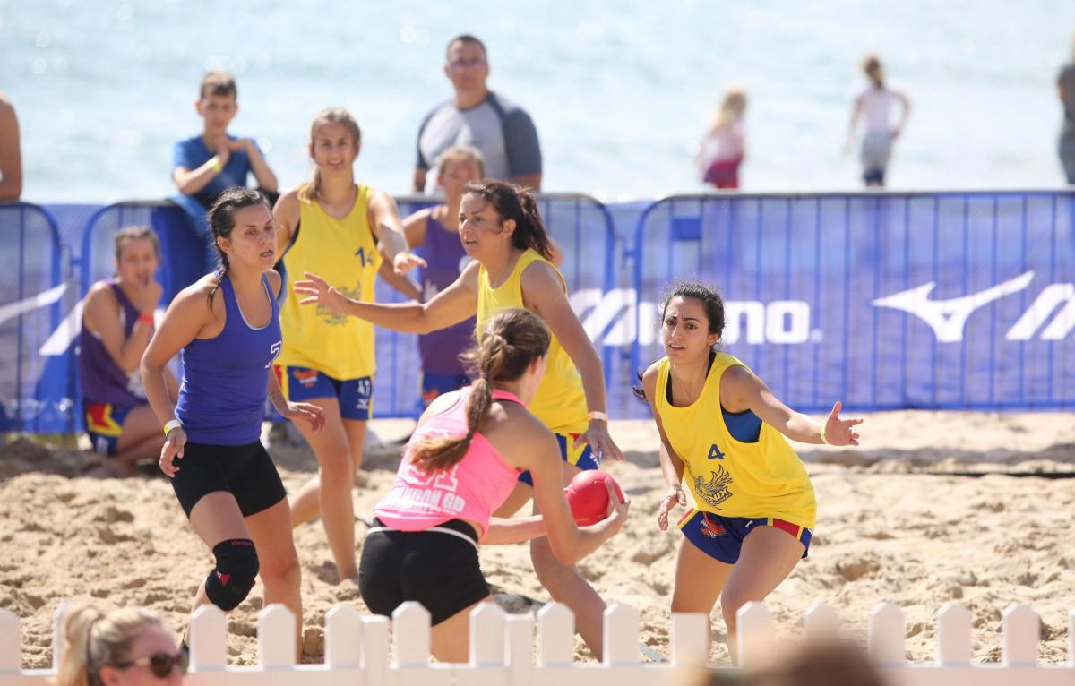 pictures british beach handball championships returns to poole