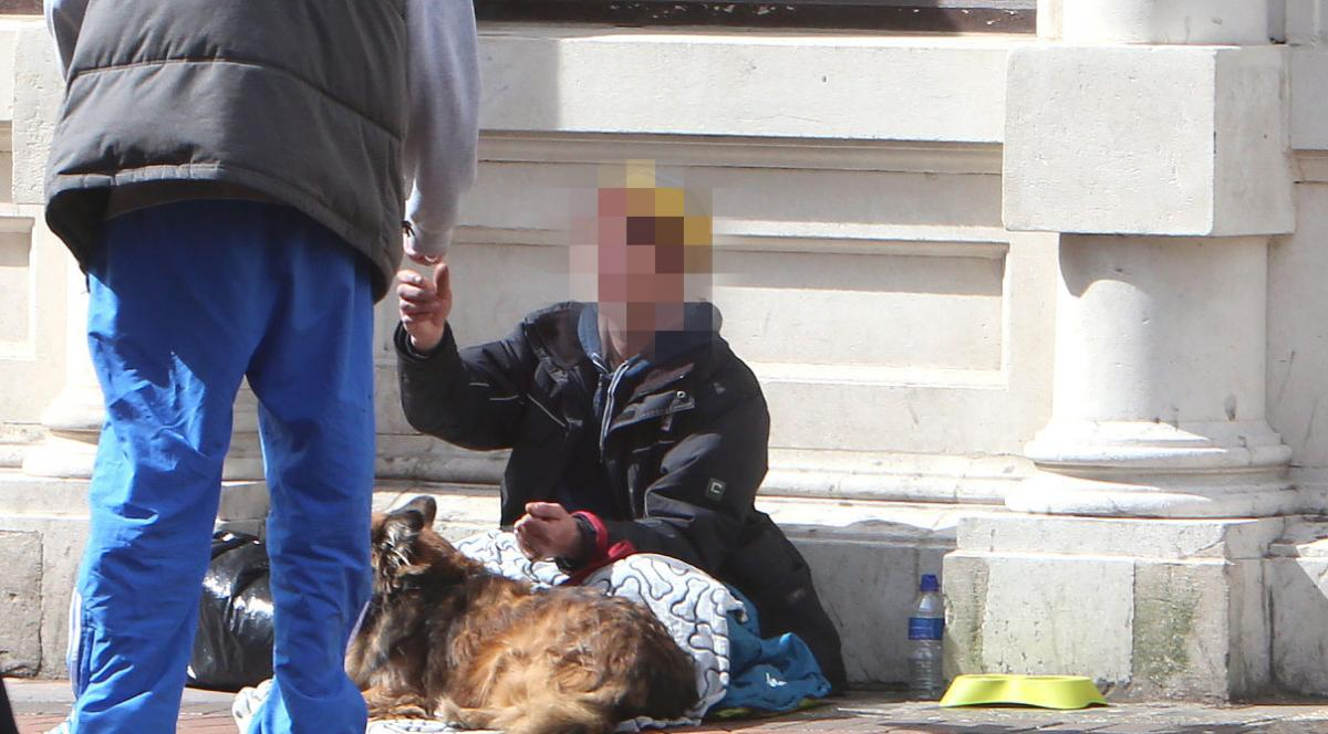 Bournemouth's street begging is embarrassing  Something