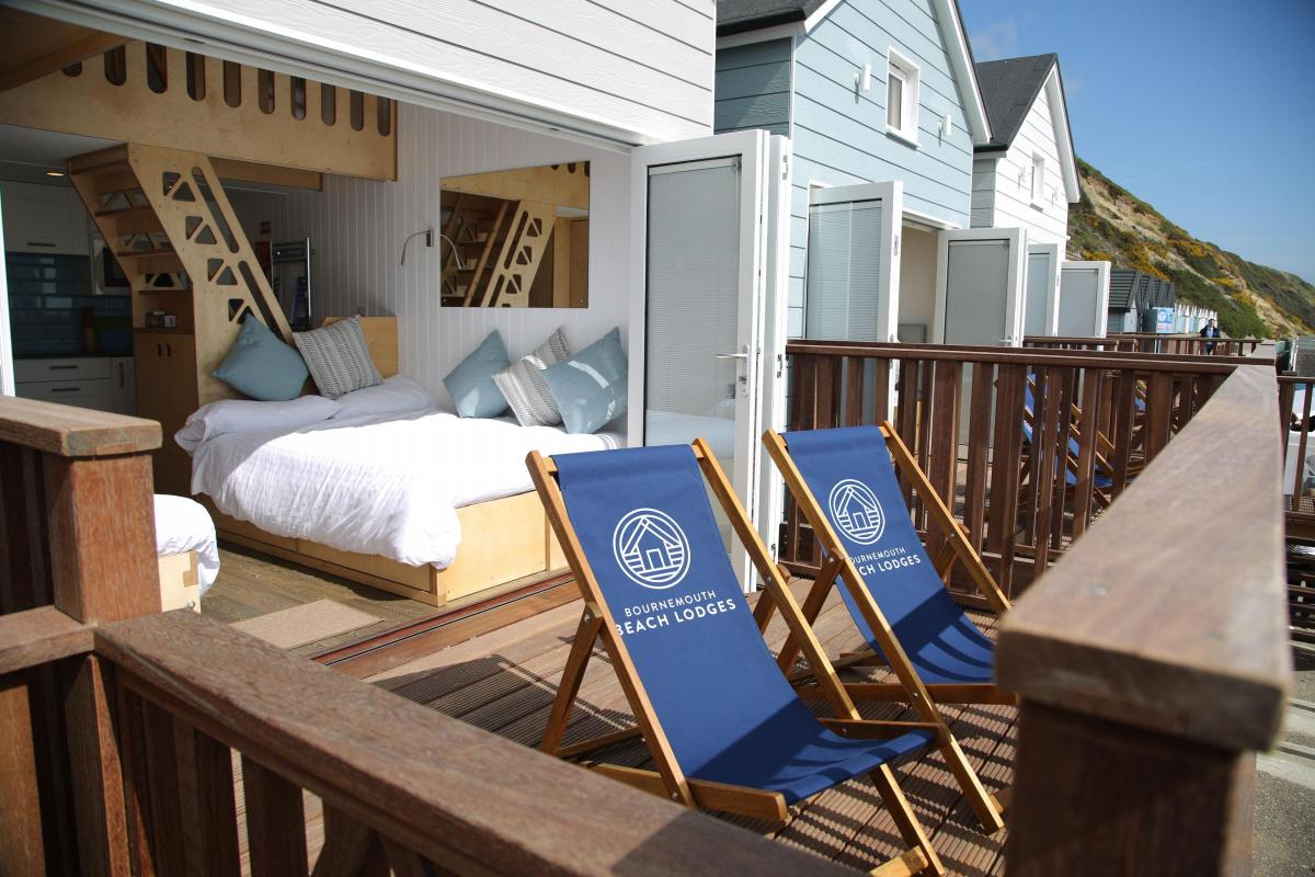 Bournemouths Beach Lodges Enjoy Bumper First Season And Theyre Fully Booked Over The Summer Holidays