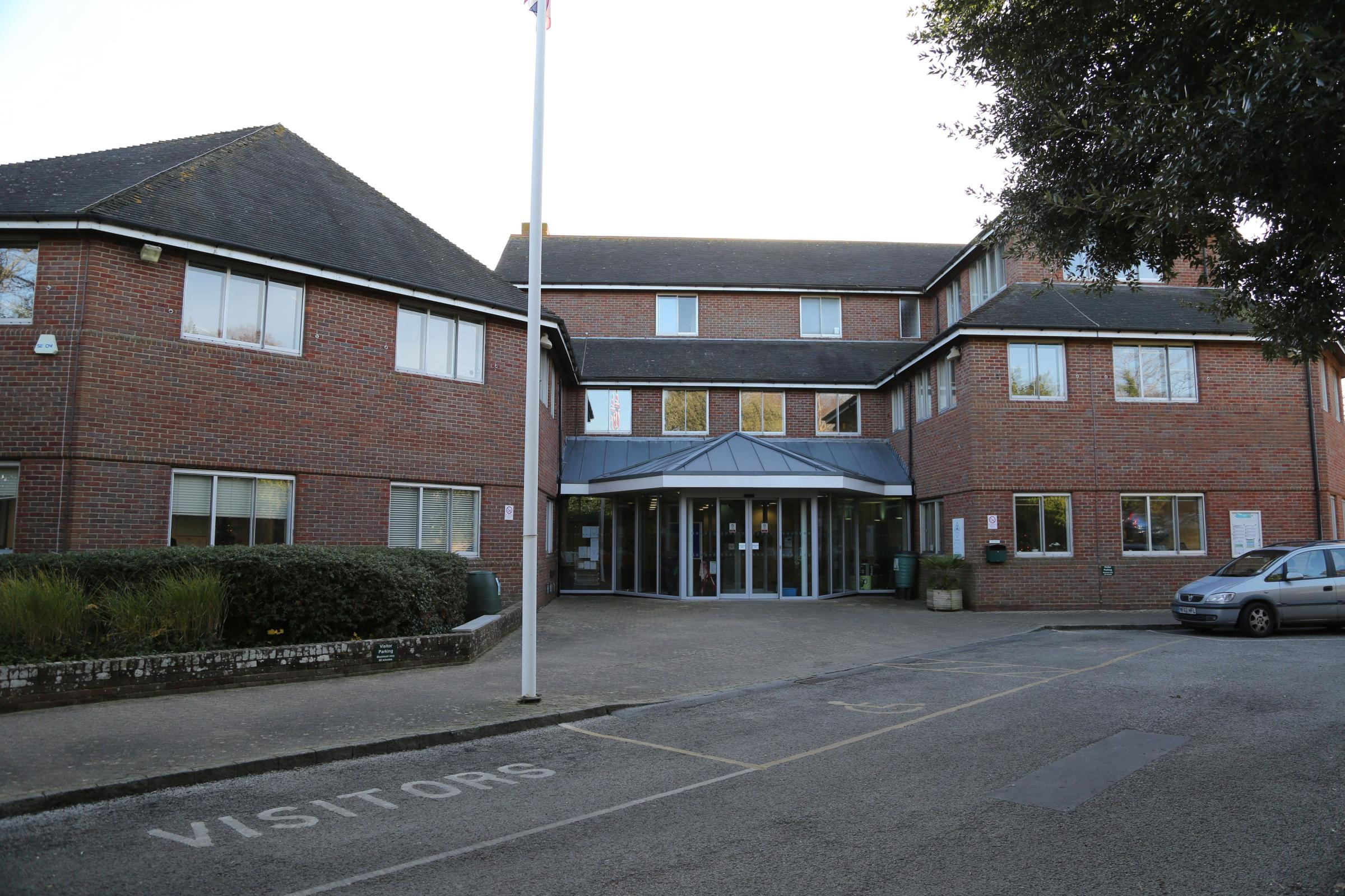 Purbeck district council head office at Westport House in Wareham.