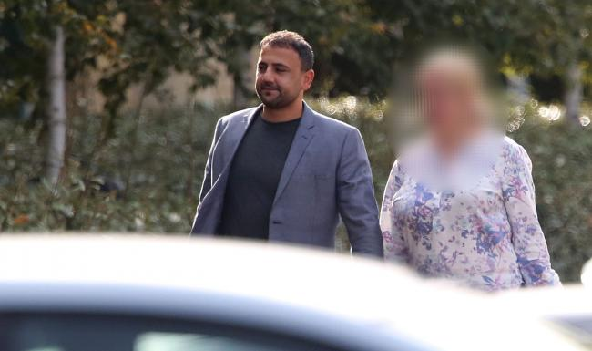 Snatch picture. .Mehmet Aytas arriving at Bournemouth Crown Court..