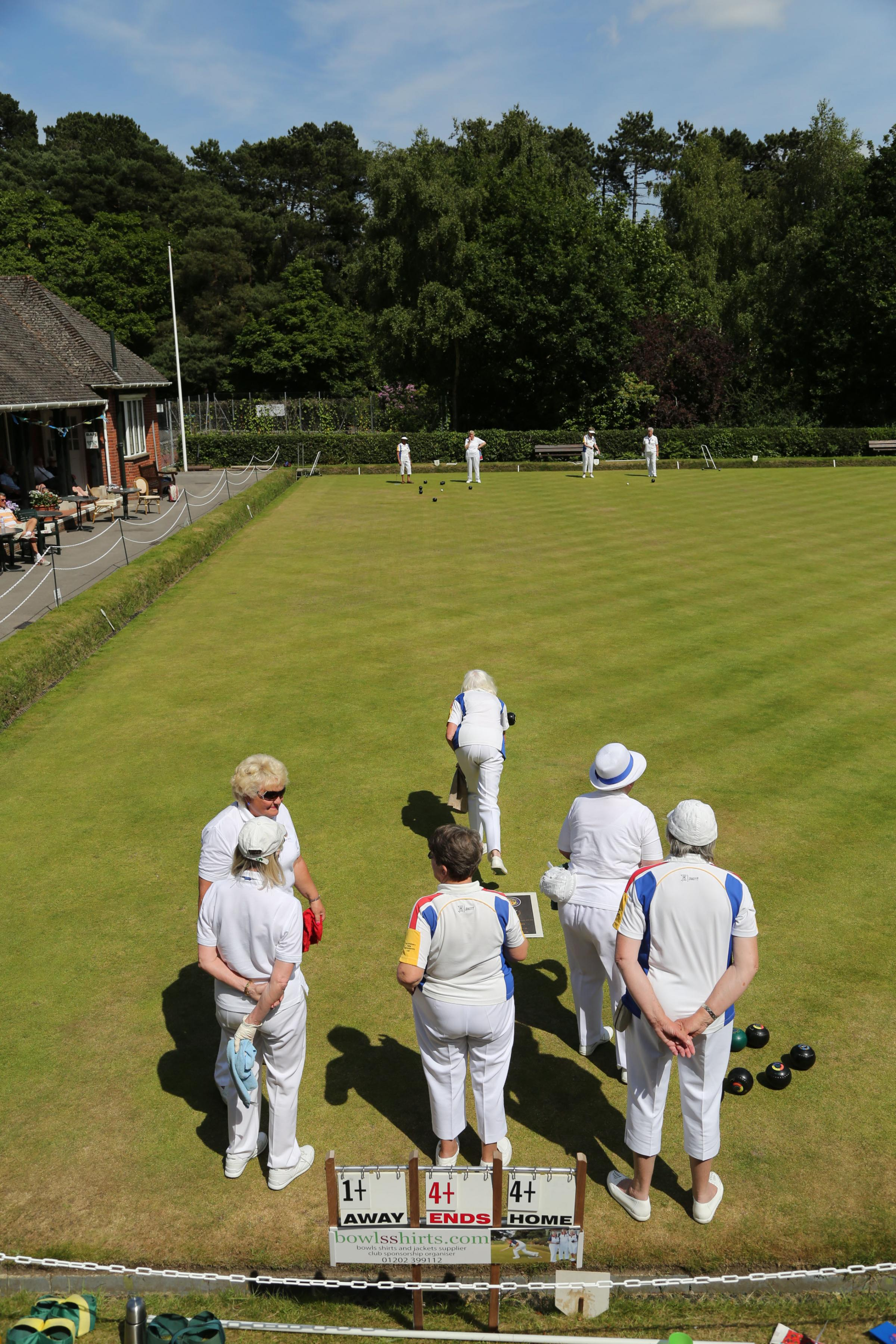 PICTURESQUE: Bournemouth Bowls Club's Meyrick Park headquarters