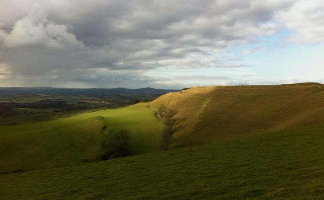 Eggardon Hill, Dorset