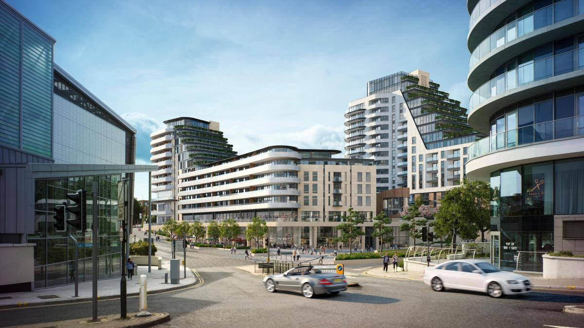 150m plans to transform winter gardens site are submitted to the