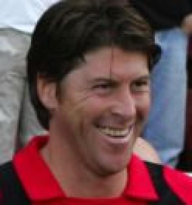 Bournemouth Echo: ALL SMILES: Darren Anderton in his Dean Court days