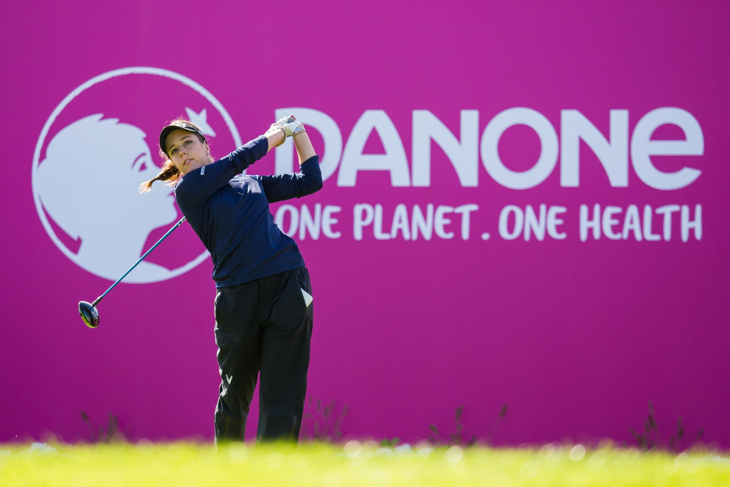 TOP-10 FINISH: Dorset's Georgia Hall claimed a share of 10th place at the Evian Championship (Picture: Tristan Jones)