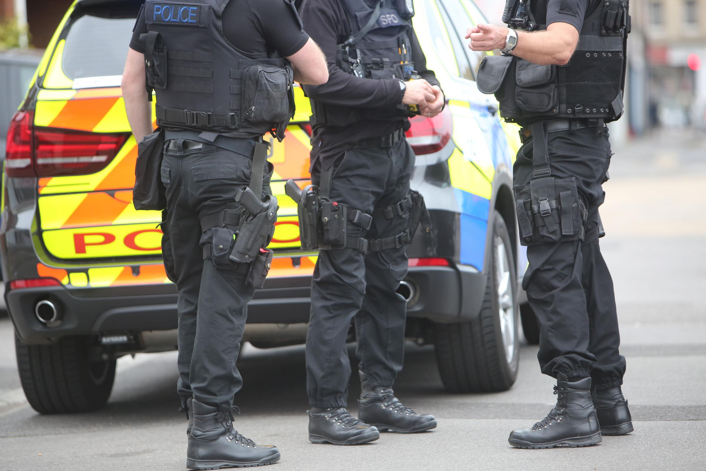 Armed police officers (file picture)