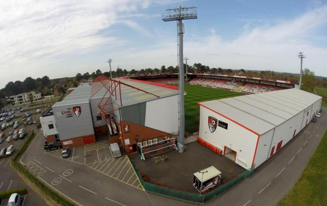 Dean Court, the home ground of AFC Bournemouth, at King's Park in Bournemouth. ..Catchline - cm170415bDeanCourt.
