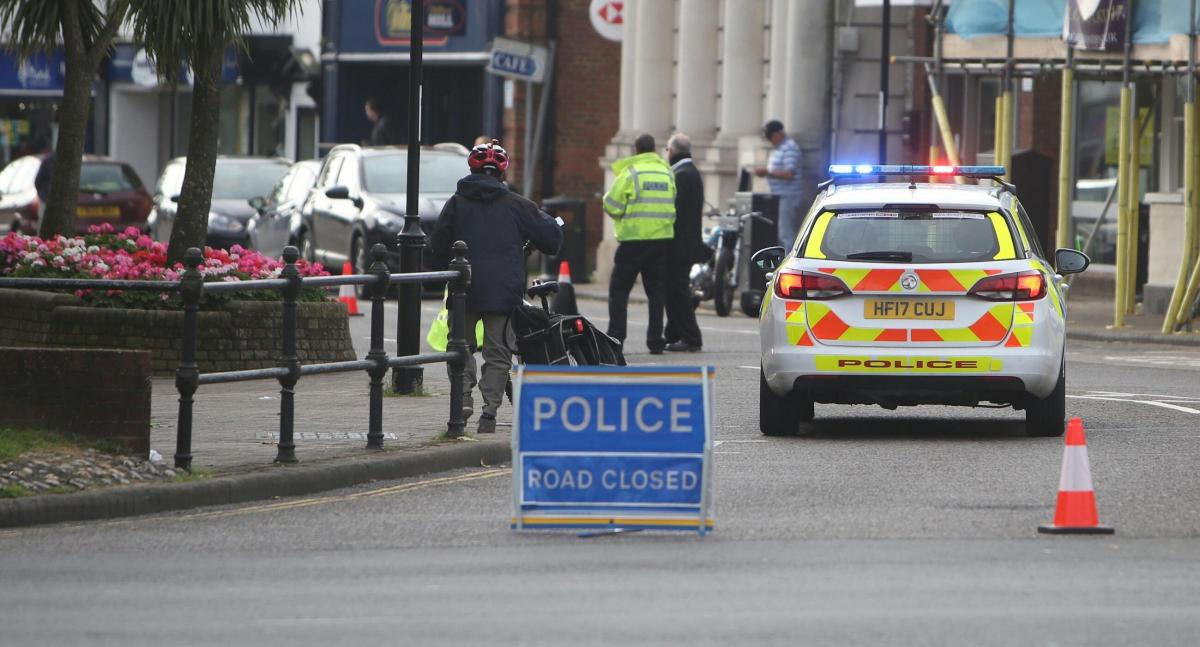 Emergency services called to Christchurch High Street after